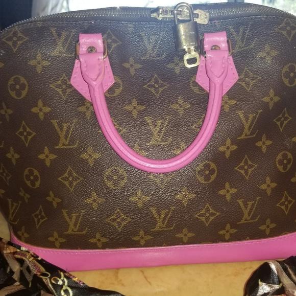 Louis Vuitton Bags   Sale Price Authentic Lv Alma Pm   Poshmark 90ce519cb0